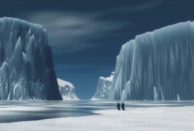 Что же на самом деле скрывает этот толстый слой льда?