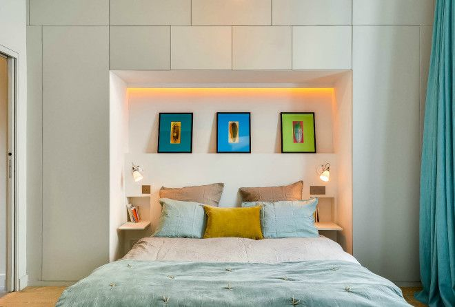 18 отличных идей, как расширить небольшую спальню в малогабаритной панельке