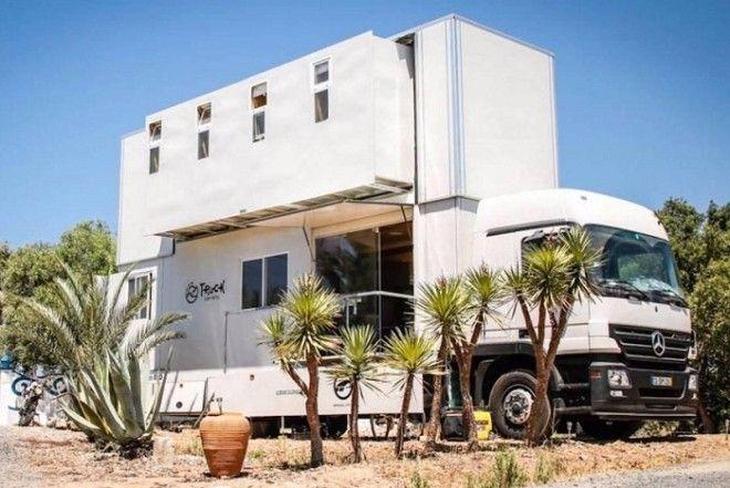 Шикарный отель на колесах