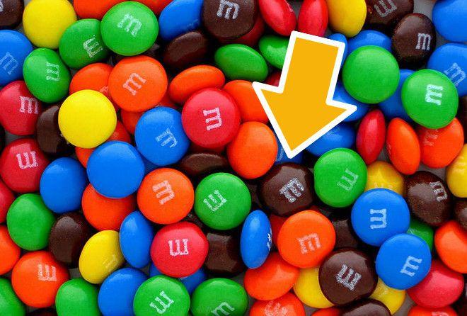 M&M'S - одни из самых популярных конфет в мире.