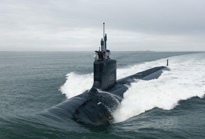 Что творится внутри самой совершенной подлодки флота США.