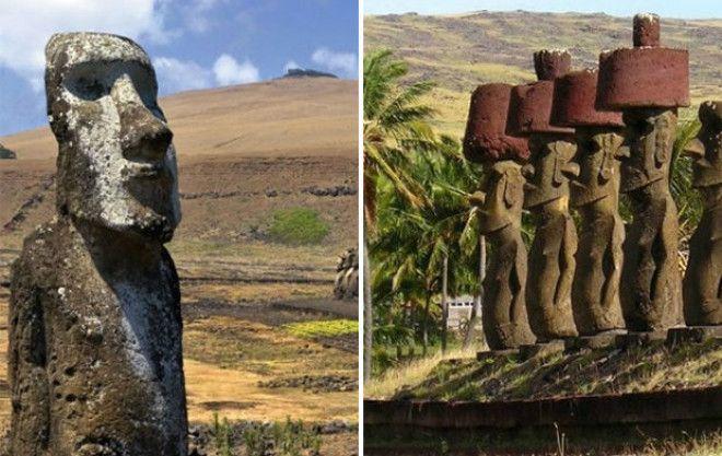 Узнайте разгадку древних статуй!