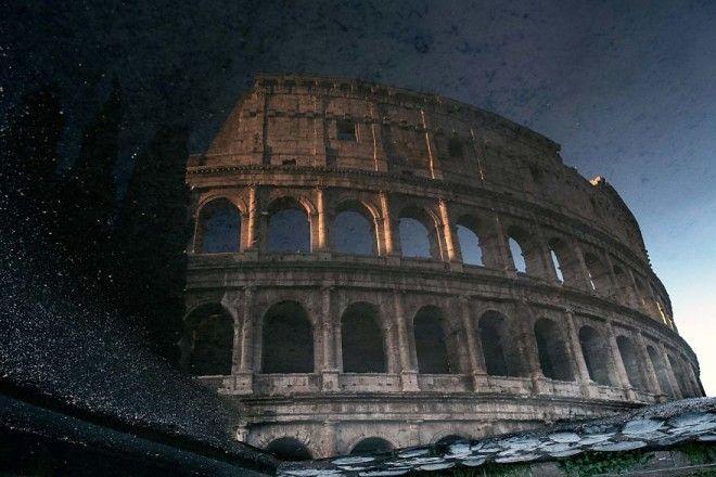 Завораживающее великолепие дождливого Рима.