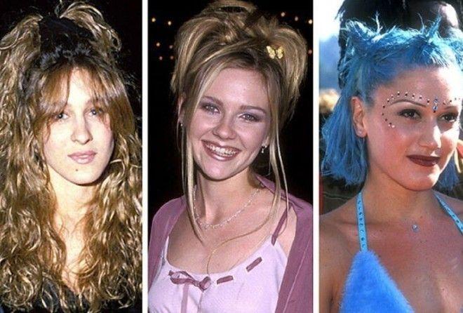 Прически, модные в 1990-х, были полной дикостью!