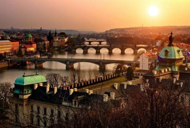 Поразительная и лучезарная Прага...